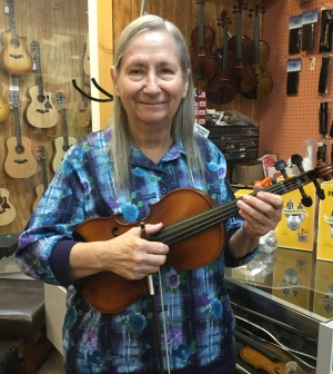 Nancy Hall - Violin, Banjo, Mandolin Instructor at Boogie Music, Phoenix, AZ.