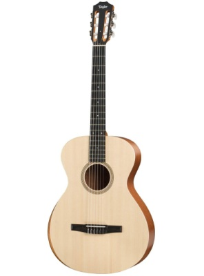 Taylor Academy 12e-N Nylon String with Armrest, Layered Sapele Back & Sides, Lutz Spruce Top (Academy 12e-N)