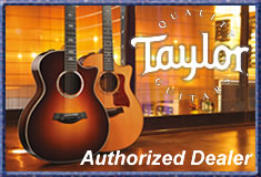 Authorized Taylor Guitar Dealer for over 30 years