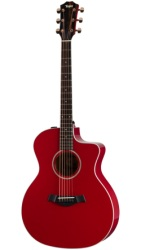 Taylor 214ce RED DLX Grand Auditorium guitar (214ce Red DLX)